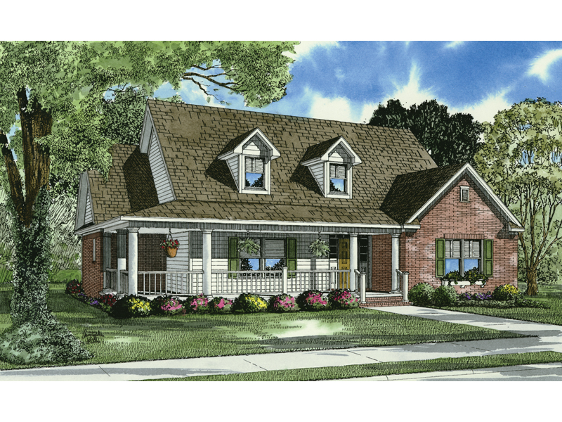 Gregory Charming Country Home Plan 055d 0619 House Plans