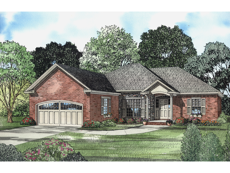 Brick Ranch House Provides Timeless Appeal