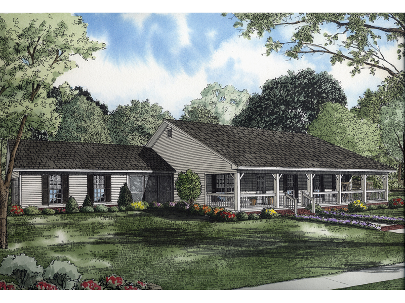 Colonial House Plan Front Image - 055D-0651 | House Plans and More
