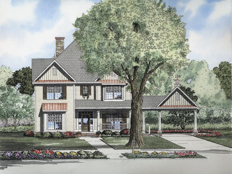 Luxury Farmhouse Style Has Varied Siding Styles
