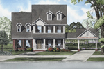 Uncommon Country Inspired Two-Story House design