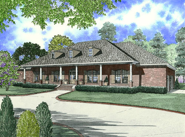 Wynnewood Ranch Home Plan 055d 0747 House Plans And More