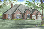 Traditional House Plan Front Image - 055D-0748 | House Plans and More