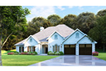 Traditional House Plan Front Photo 02 - 055D-0748 | House Plans and More