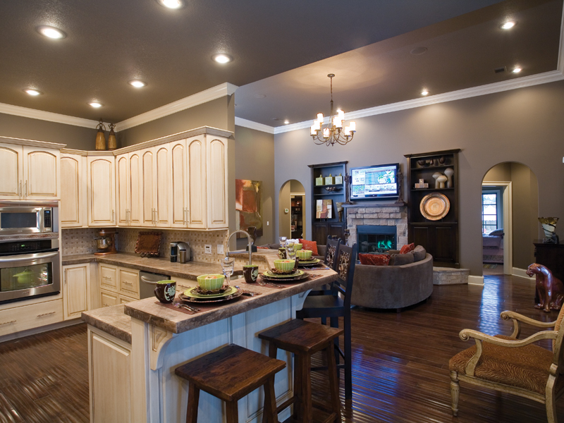 Traditional House Plan Kitchen Photo 03 055D-0748