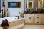 Ranch House Plan Master Bathroom Photo 01 - 055D-0748 | House Plans and More