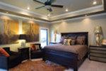 Ranch House Plan Master Bedroom Photo 01 - 055D-0748 | House Plans and More