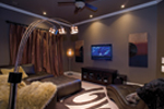 Ranch House Plan Theater Room Photo 01 - 055D-0748 | House Plans and More