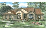 Ranch House Plan Front Image - 055D-0790 | House Plans and More