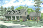 Cape Cod New England Home With Triple Dormers