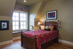 English Tudor House Plan Bedroom Photo 02 - 055D-0817 | House Plans and More
