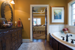 European House Plan Master Bathroom Photo 01 - 055D-0817 | House Plans and More