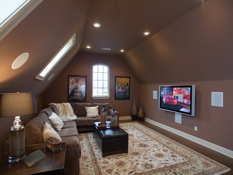 European House Plan Media Room Photo 01 055D-0817