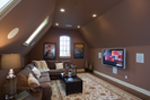English Tudor House Plan Media Room Photo 01 - 055D-0817 | House Plans and More