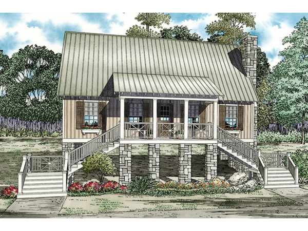 Palomino lowcountry cottage home plan 055d 0838 house Lowcountry house plans