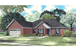 Traditional Brick Ranch With Functional Two-Car Garage