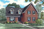 Traditional House Plan Front of Home - 055D-0843 | House Plans and More
