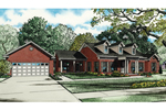 Traditional House Plan Front of Home - 055D-0844 | House Plans and More