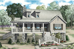 Vacation Home Plan Front of Home - 055D-0847 | House Plans and More