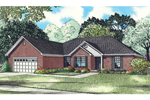 Traditional House Plan Front of Home - 055D-0851 | House Plans and More