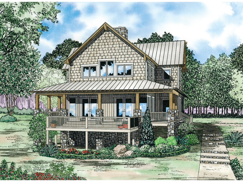 Gardner creek shingle style home plan 055d 0852 house for Shingle home plans