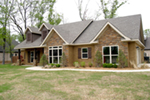Ranch House Plan Front of Home - 055D-0864 | House Plans and More