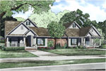 Multi-Family House Plan Front of Home - 055D-0865 | House Plans and More