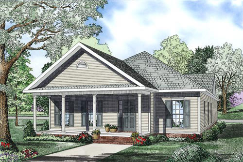 Ranch House Plan Front Image - 055D-0867 | House Plans and More