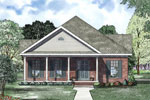 Ranch House Plan Front of Home - 055D-0867 | House Plans and More