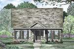 Ranch House Plan Front Image - 055D-0868 | House Plans and More