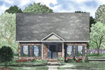 Ranch House Plan Front of Home - 055D-0868 | House Plans and More