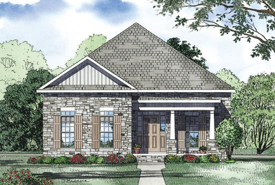 Traditional House Plan Front Image - 055D-0869 | House Plans and More