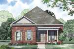 Ranch House Plan Front of Home - 055D-0869 | House Plans and More