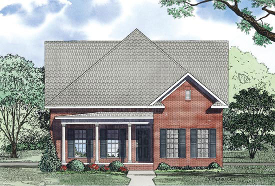 Traditional House Plan Front Image - 055D-0872 | House Plans and More
