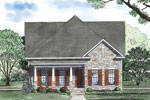 Farmhouse Plan Front Image - 055D-0872 | House Plans and More