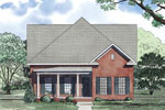 Farmhouse Home Plan Front Image - 055D-0873 | House Plans and More