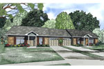 Traditional House Plan Front of Home - 055D-0875 | House Plans and More