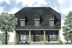 Traditional House Plan Front of Home - 055D-0876 | House Plans and More