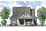 Ranch House Plan Front of Home - 055D-0879 | House Plans and More