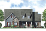 Country House Plan Front of Home - 055D-0882 | House Plans and More