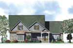 Craftsman House Plan Front of Home - 055D-0883 | House Plans and More