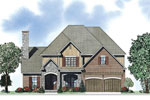 Neoclassical Home Plan Front of Home - 055D-0884 | House Plans and More