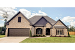 Ranch House Plan Front of Home - 055D-0886 | House Plans and More