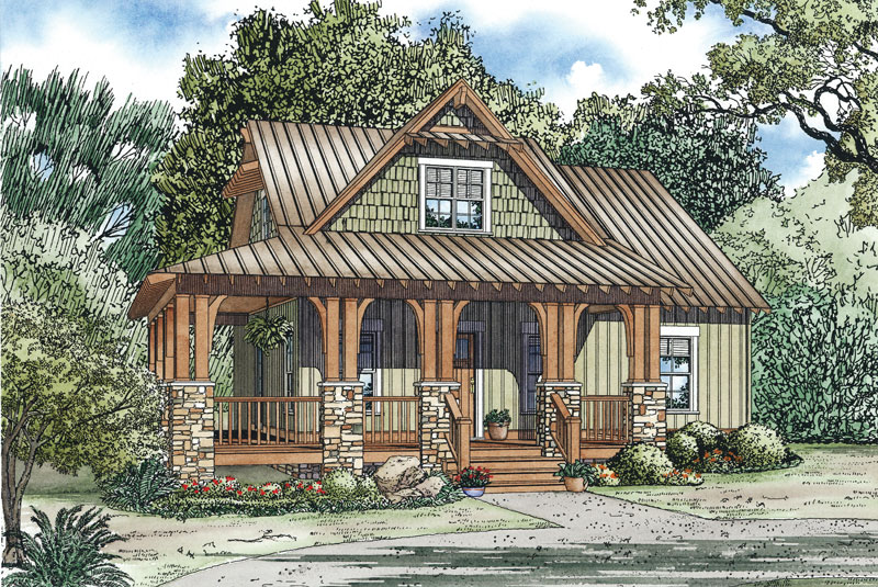 silvercrest craftsman cabin home plan 055d 0891 house plans and more rh houseplansandmore com Best Cottage Plans Gothic Cottage House Plans