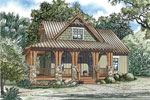 Cabin & Cottage House Plan Front Image - Silvercrest Craftsman Cabin Home 055D-0891 | House Plans and More
