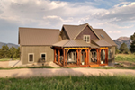 Cabin and Cottage Plan Front of Home - 055D-0891 | House Plans and More