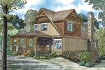 Cabin and Cottage Plan Front Image - 055D-0893 | House Plans and More