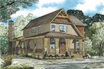Craftsman House Plan Front of Home - 055D-0893 | House Plans and More