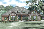 English Cottage House Plan Front Image - 055D-0897 | House Plans and More