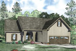 Rustic Home Plan Front of Home - 055D-0900 | House Plans and More